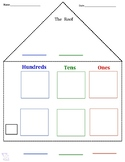 Place Value House Chart *Bilingual-Spanish & English