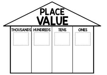 Place Value House Craftivity