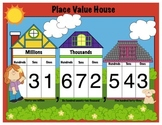 Place Value House - Math Mini Anchor Chart - Handout - Printable