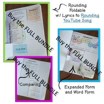 Place Value Houses Foldable - Interactive Notebook