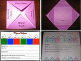 Place Value Houses and Flip Book