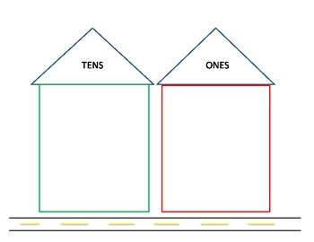 Place Value Houses to Tens