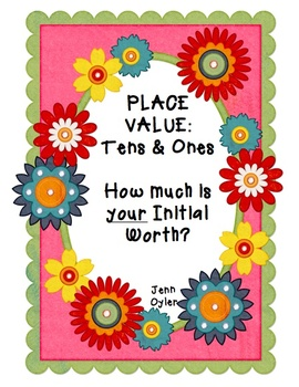 Place Value - How Much Is Your Initial Worth?