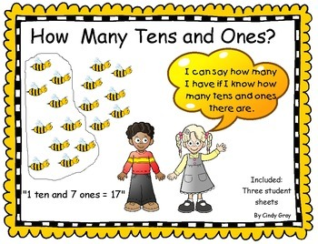 Place Value ~ How many tens and ones?