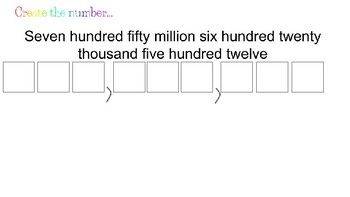 Place Value (Hundred Millions)