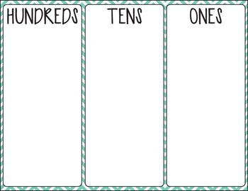 Place Value (Hundreds, Tens, Ones)