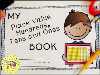 Place Value Hundreds Tens Ones Interactive Book