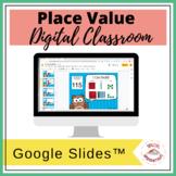 Place Value (Hundreds, Tens, Ones) | Google Slides™ | Dist