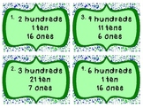 Place Value Hundreds, Tens, & Ones Scoot Game