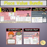 Place Value: Hundreds Tens Ones/Units Worksheets PPT & Activities BUNDLE