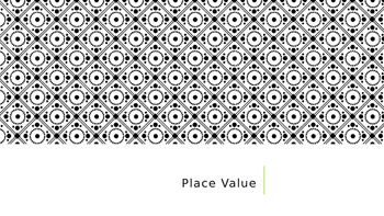 Place Value (Hundreds, Tens, and Ones)