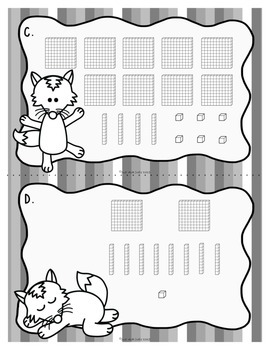 Place Value Activity Hundreds Tens and Ones with Fantabulous Fox