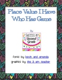 Place Value: I Have Who Has Game (Tens and Ones)