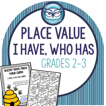 Place Value - I Have, Who Has game