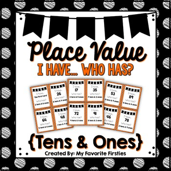 Place Value - I have... Who Has...