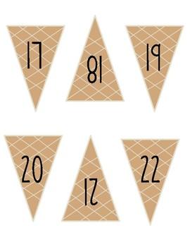 Place Value Ice cream cones