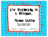 Place Value - I'm Thinking of a Number set 1
