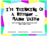 Place Value:  I'm Thinking of a Number set 3