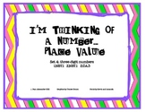Place Value - I'm Thinking of a Number set 4