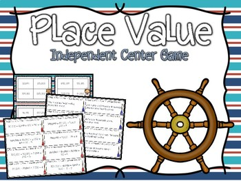 Place Value Independent Center Game #5