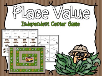 Place Value Independent Center Game #6