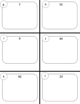 Place Value Independent Practice:  Cut and Paste FREEBIE