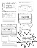 Place Value Inquiry Booklet