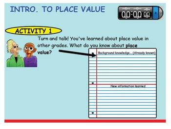 Grade 3 SMARTBOARD- Place Value Instructional Pack