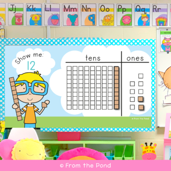 Place Value Interactive Activity - Show Me the Number