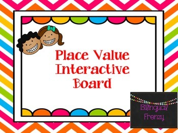 Place Value Interactive Board