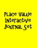 Place Value Interactive Journal Freebie