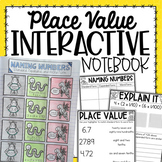 Expanded & Word Form Place Value Interactive Notebook {5.NBT.3}