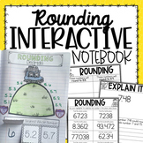 Rounding Interactive Notebook {5.NBT.4}