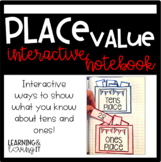 Place Value Interactive Notebook 1.NBT.B.2