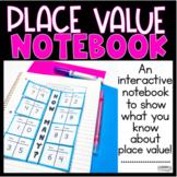 Place Value Interactive Notebook 1.NBT.B.2