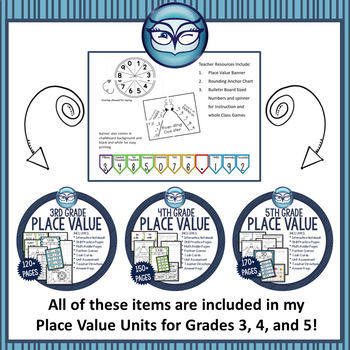 Place Value Interactive Notebook Grade 3: CCSS Aligned