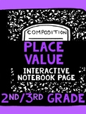 Place Value Interactive Notebook Page