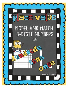 Place Value Interactive Notebook and Dice Games