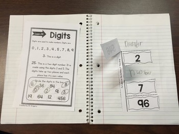 Place Value Interactive Notebook and MORE!