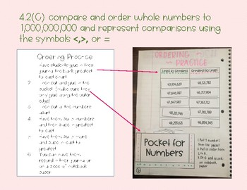 Place Value Interactive Notebooks