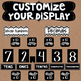 Place Value Posters Interactive Wall Display Board ~ Black and White Series