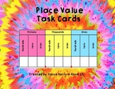 Place Value Intervention Task Cards Whole Numbers and Decimals