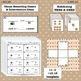 Unitizing Place Value Pack: Subitizing Task Cards Match Game Tiny ten Frames