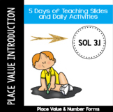 Place Value Introduction - VA SOL 3.1 - Week 1 - Number Forms
