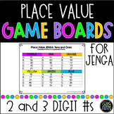 Place Value JENGA {EDITABLE} Game Boards