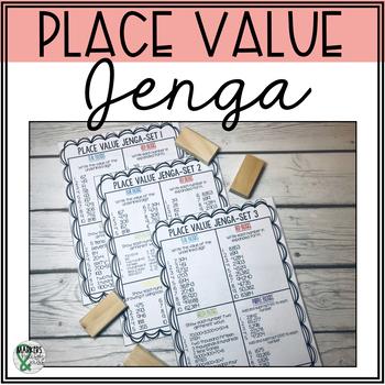 Math Jenga: Place Value