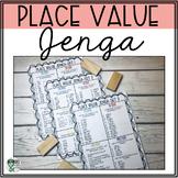 Place Value Math Jenga