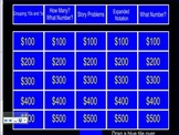 Place Value Jeopardy 1