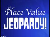 Place Value Jeopardy (Editable)