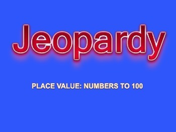 Place Value Jeopardy Interactive Powerpoint